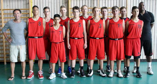 Basketballturnierteam