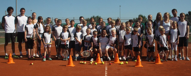 Alle vom Tenniscamp