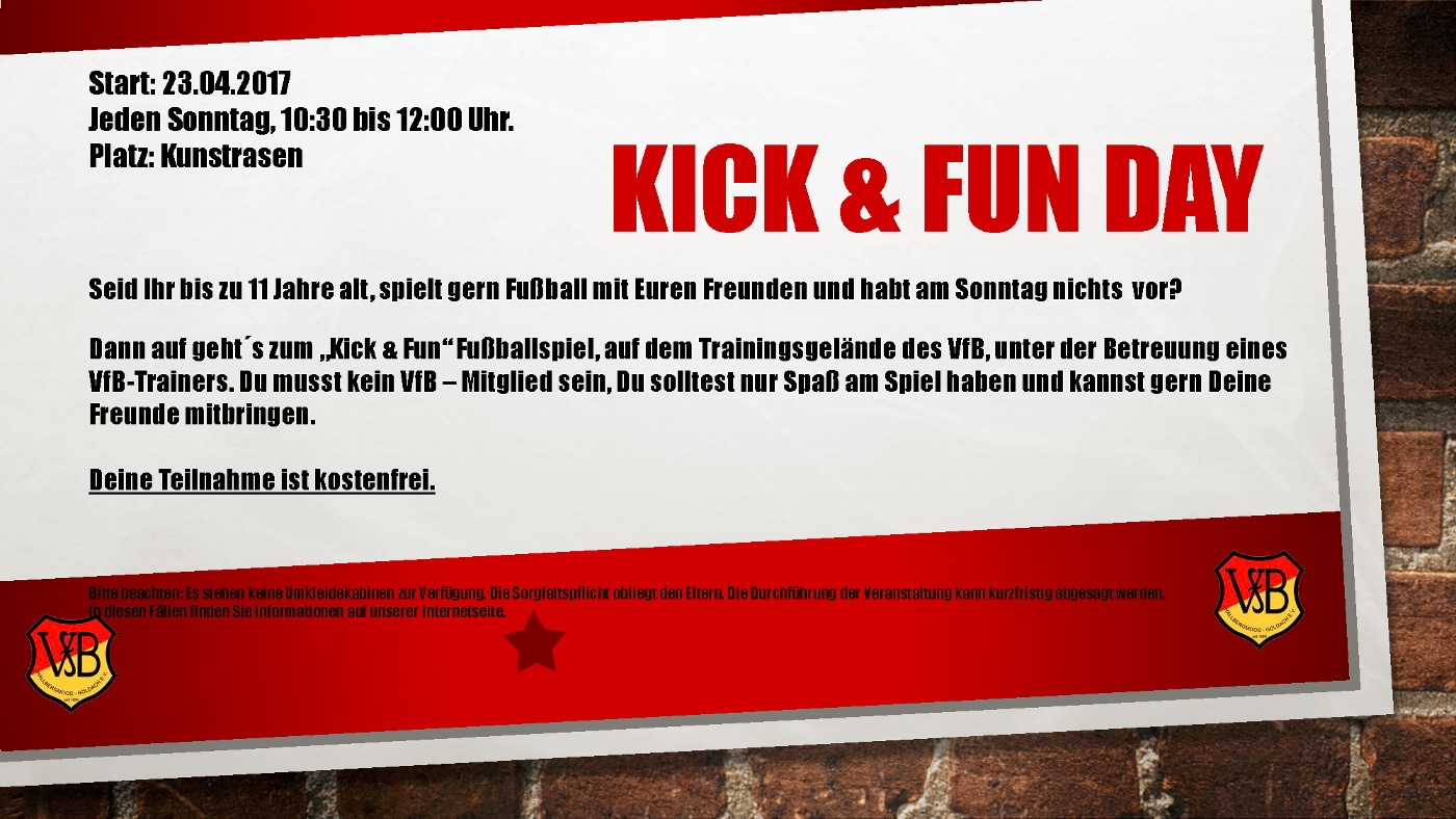2017 Fussball Kick and Fun Day 1400x788