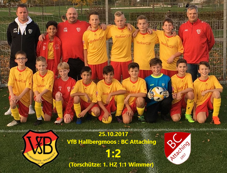 25.10.2017 VfB Attaching Pokal 1