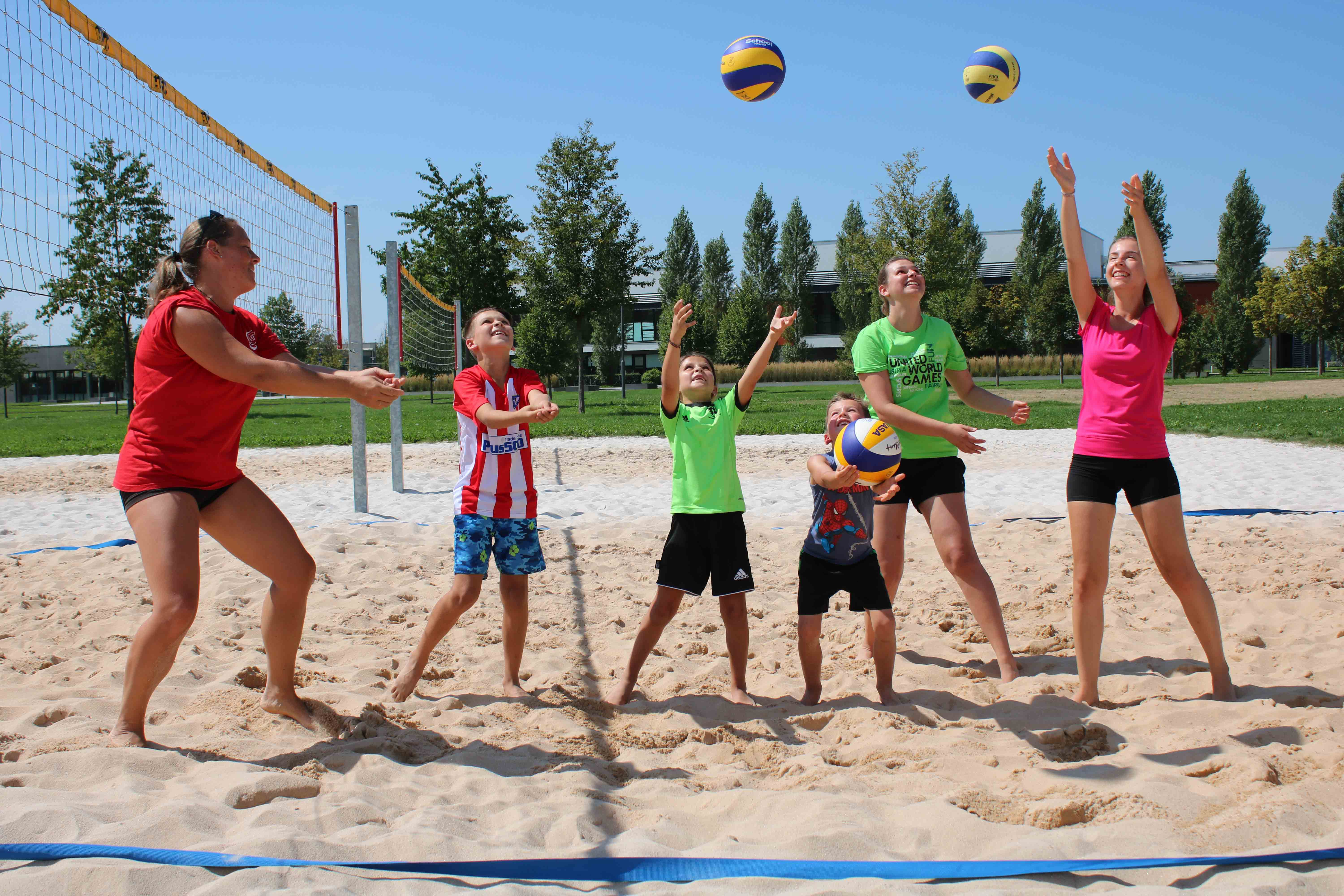 Beachvolleyball Kindercamp 18.8.17 7