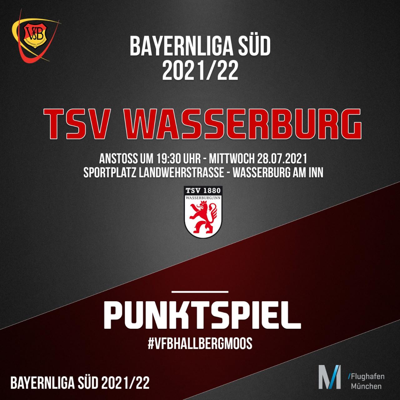 Erstes Auswärtsspiel in der Bayernligs führt den VfB nach Wasserburg