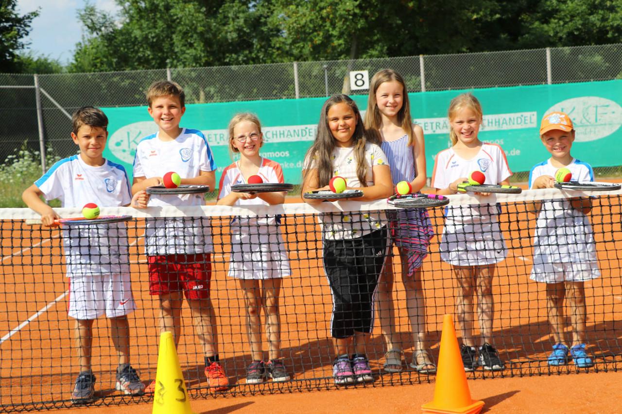 Tennis U 9 des VfB Hallbergmoos wird Meister
