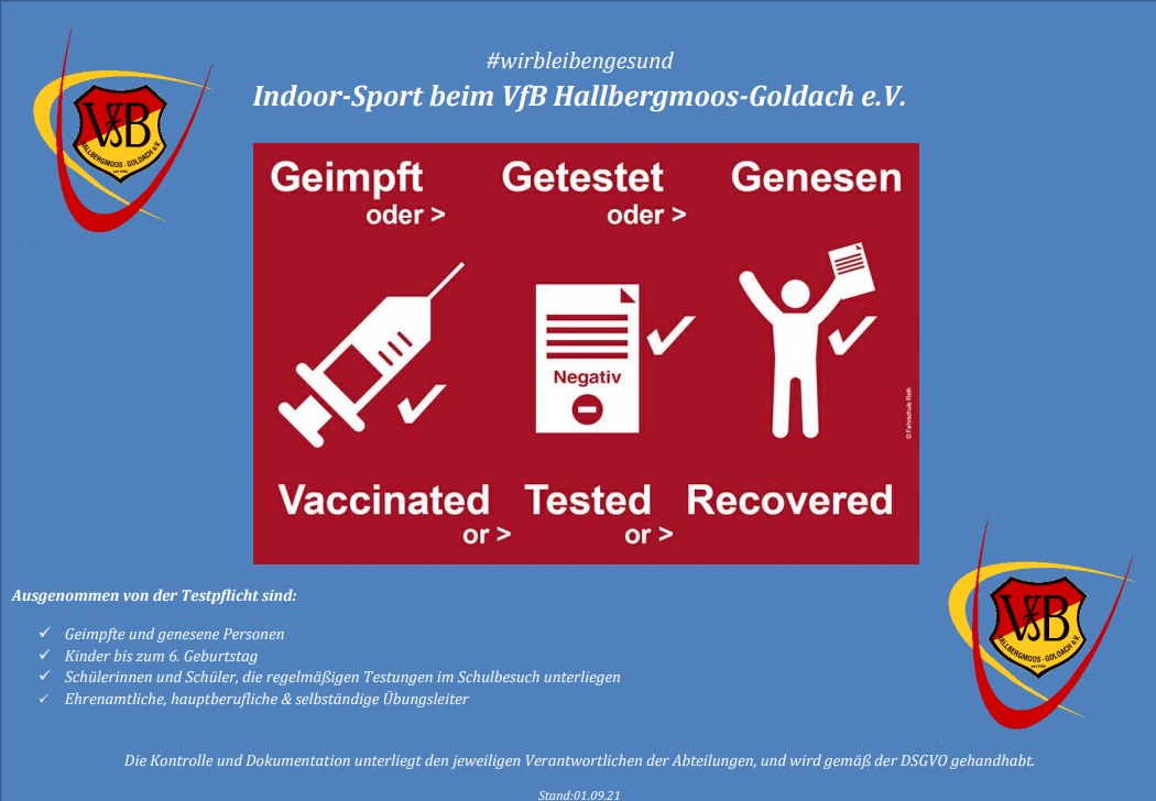 #wirbleibengesund  Indoor-Sport beim VfB Hallbergmoos-Goldach e.V.