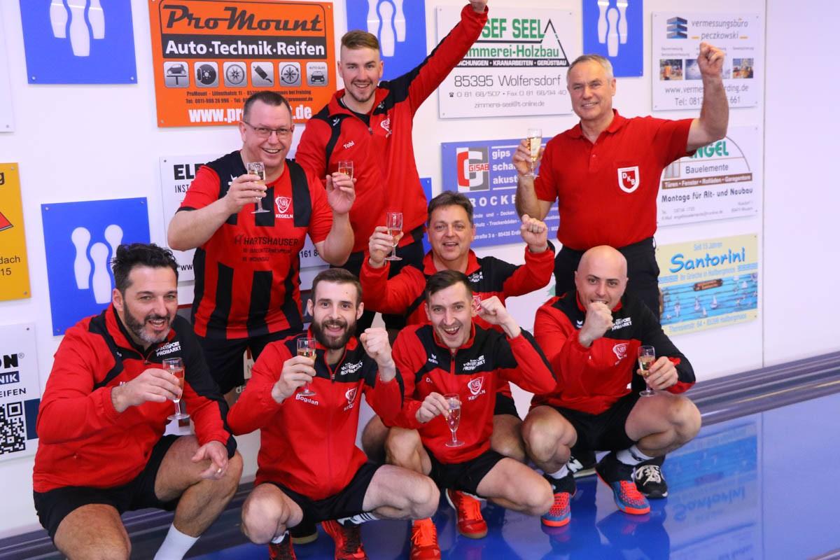 Herren 1 wird Meister der Bayernliga Süd