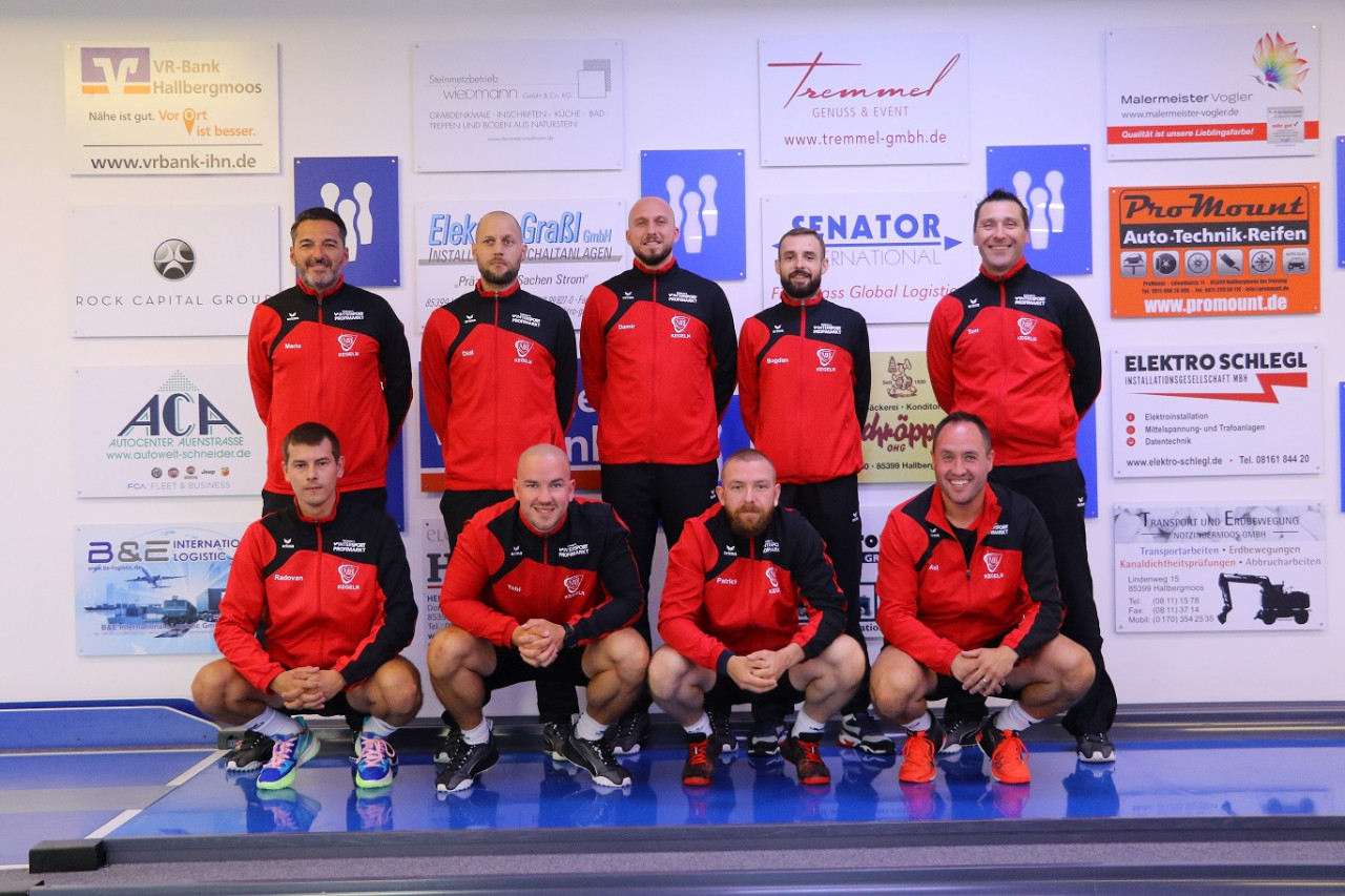 Die Herren1 in der 1. Bundesliga des DKBC's Saison 2021/22