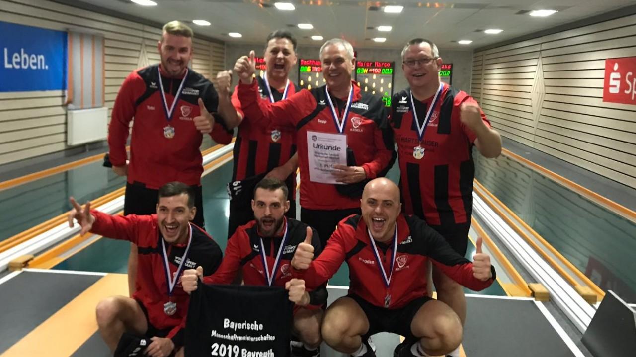 Herren 1 sind Bayerischer Mannschaftsmeister!!!