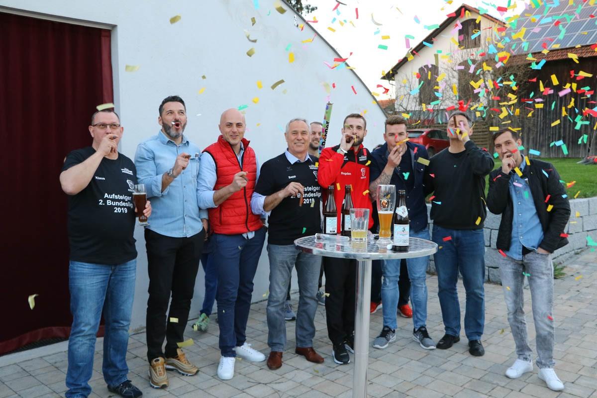 Kegler feiern ihren Aufstieg in die 2. Bundesliga