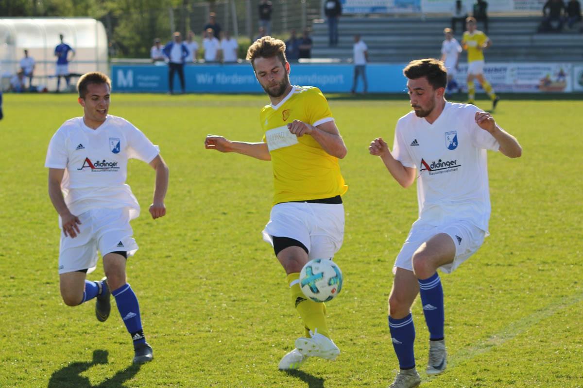 Zweite verliert in letzter Minute unglücklich mit 1:2 gegen Tabellenführer SV Kranzberg
