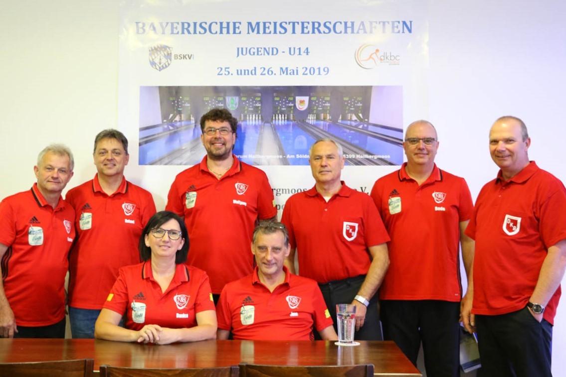 Bayerische Kegelmeisterschaften U 14 gestartet