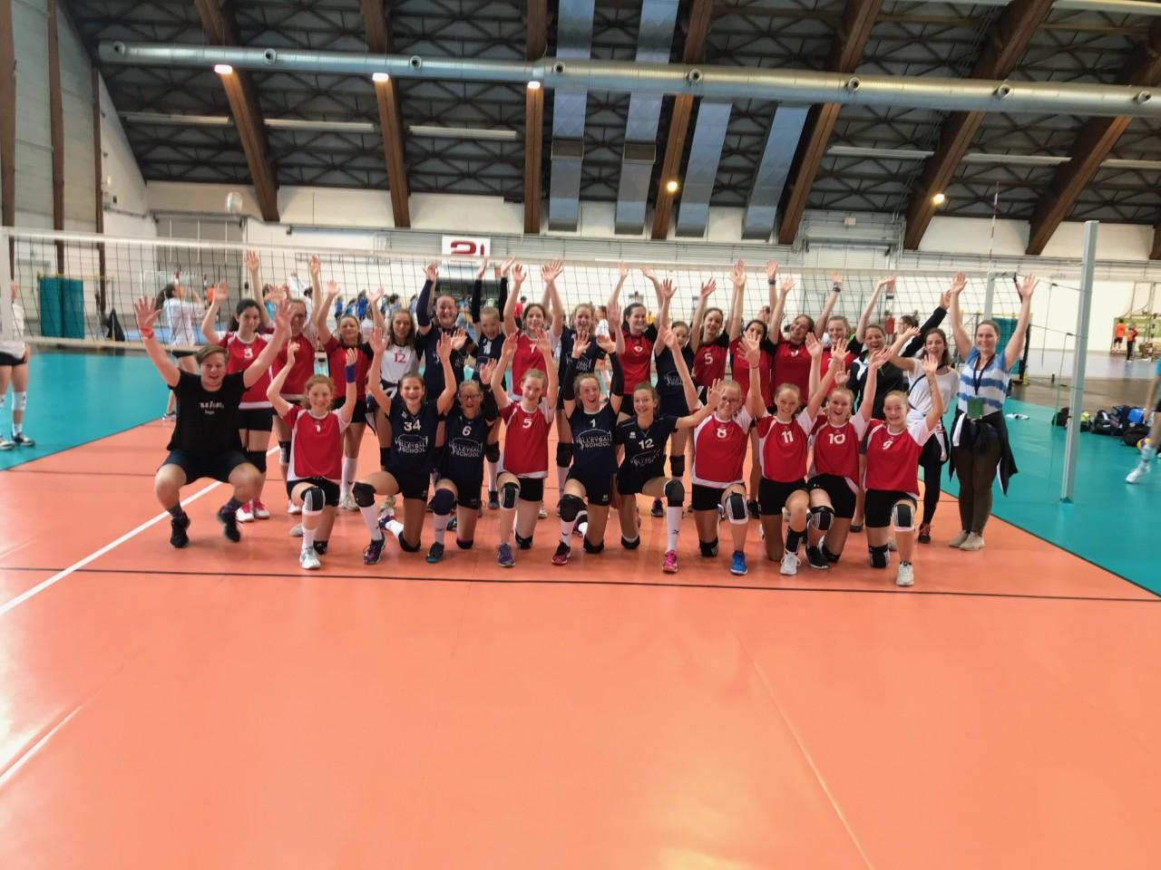 Volleyballer auf den UWGs