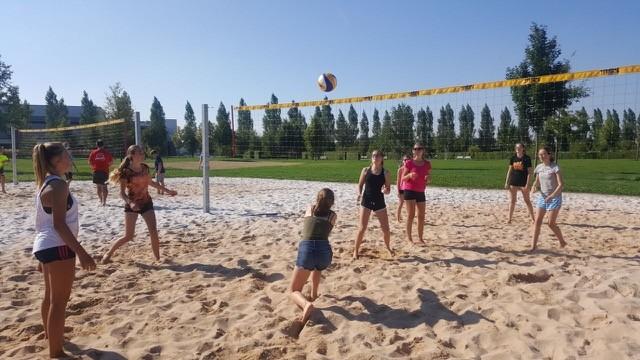 Offenes Training beim Volleyball