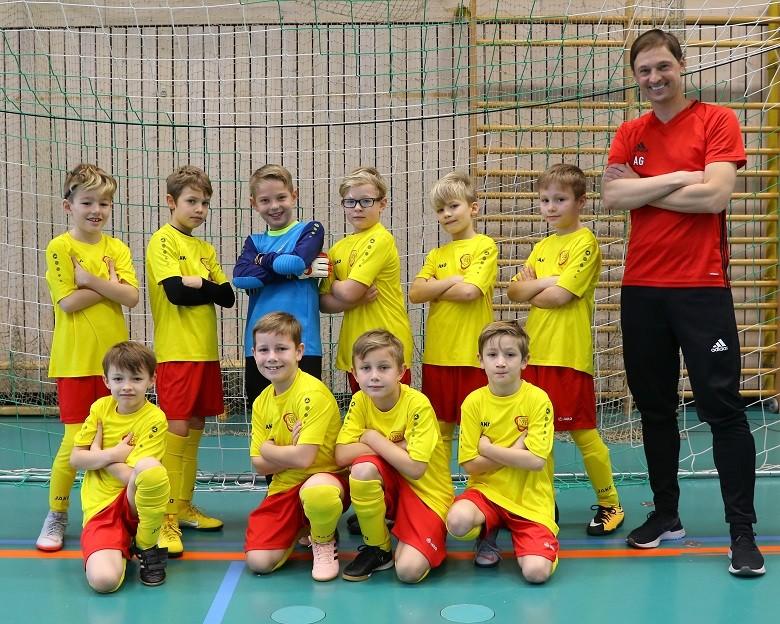 F 1 spielt kleines Turnier mit Mannschaften aus den Nachbarkreisen und München