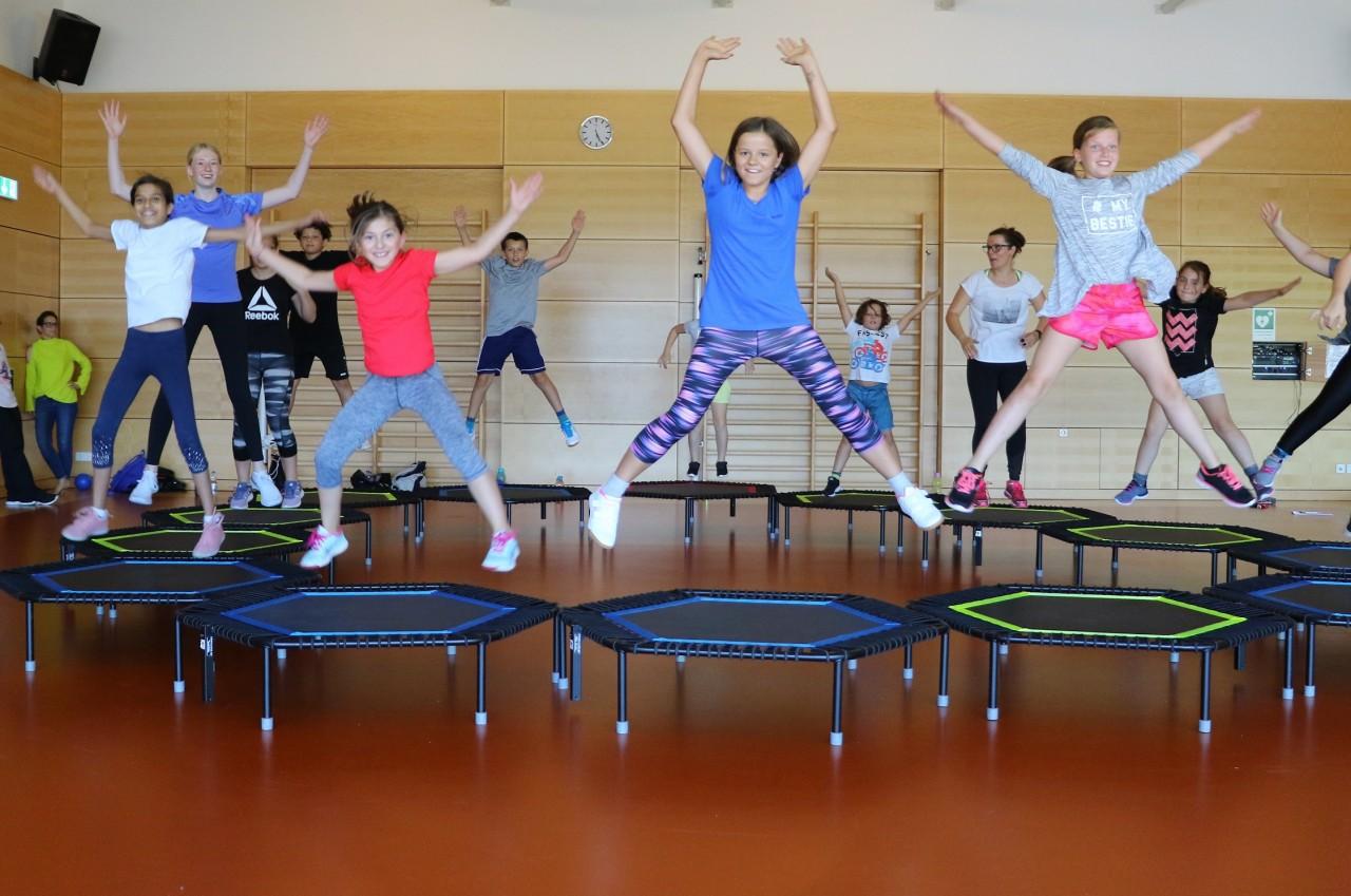 Schnuppertage beim Jumping® für Kinder
