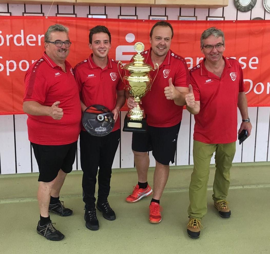 VfB Herren gewinnen zum ersten Mal den Sparkassen-Cup