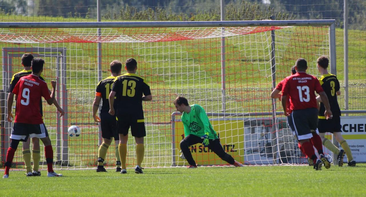 Dritte spielt 2:2 gegen Grüntegernbach