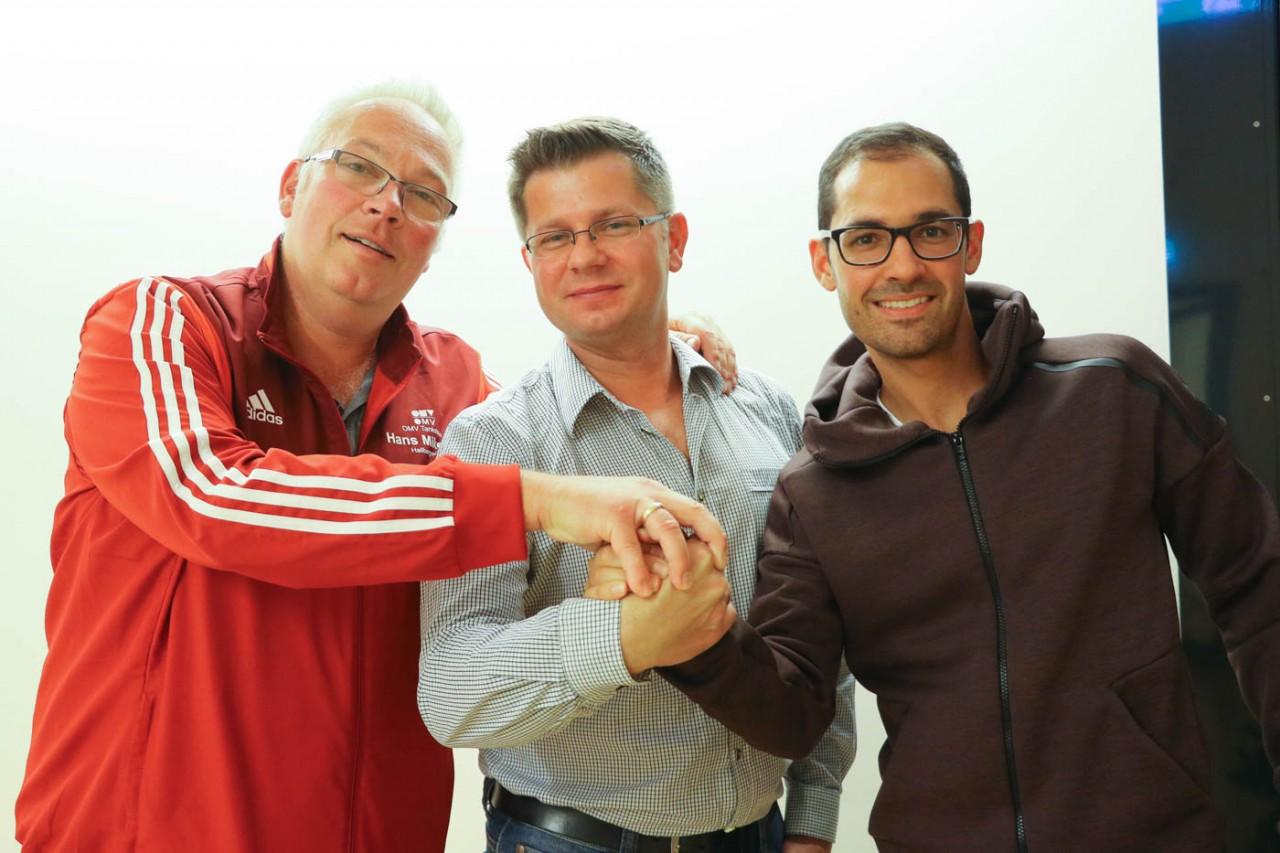 Fußballabteilung wählt mit Gilch, Bracht und Van Santviet neue Leitung