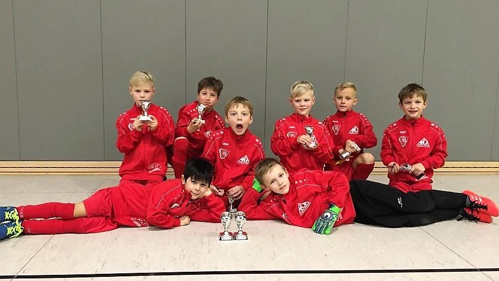 F 2 belegt vierten Platz beim Echinger Turnier