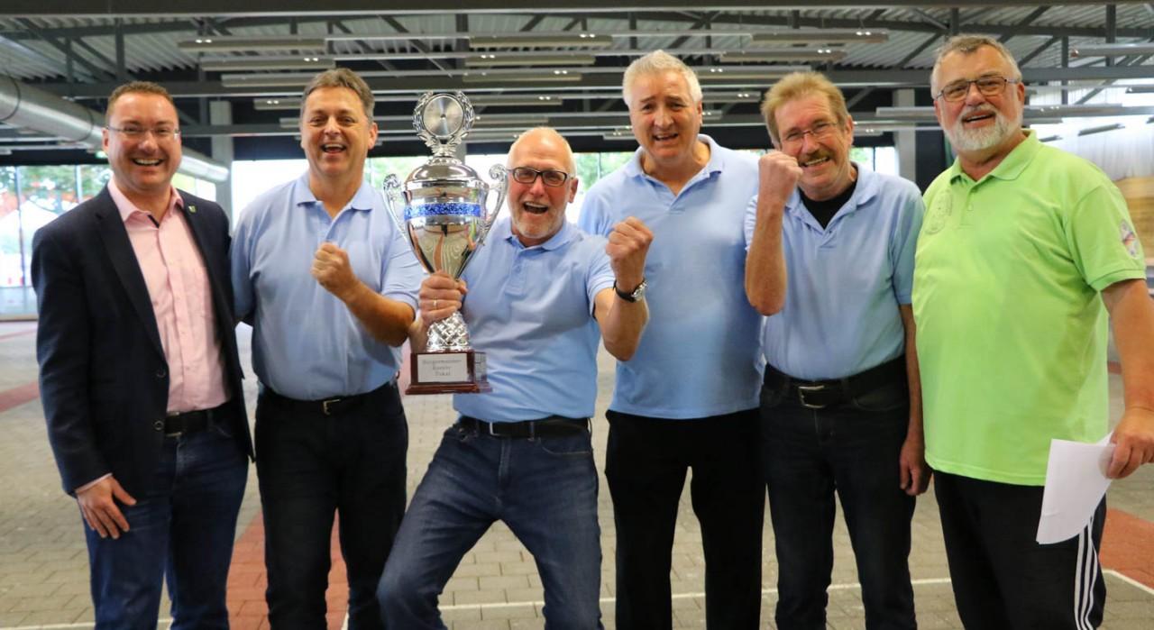 Krieger-und Soldatenverein schnappt sich den Bürgermeister Reents-Pokal