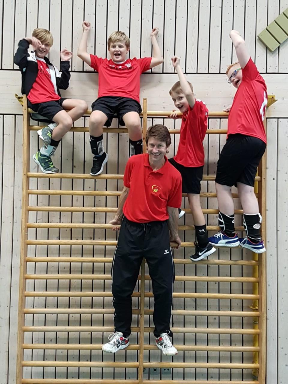 U13-Jungs richten Heimspieltag aus
