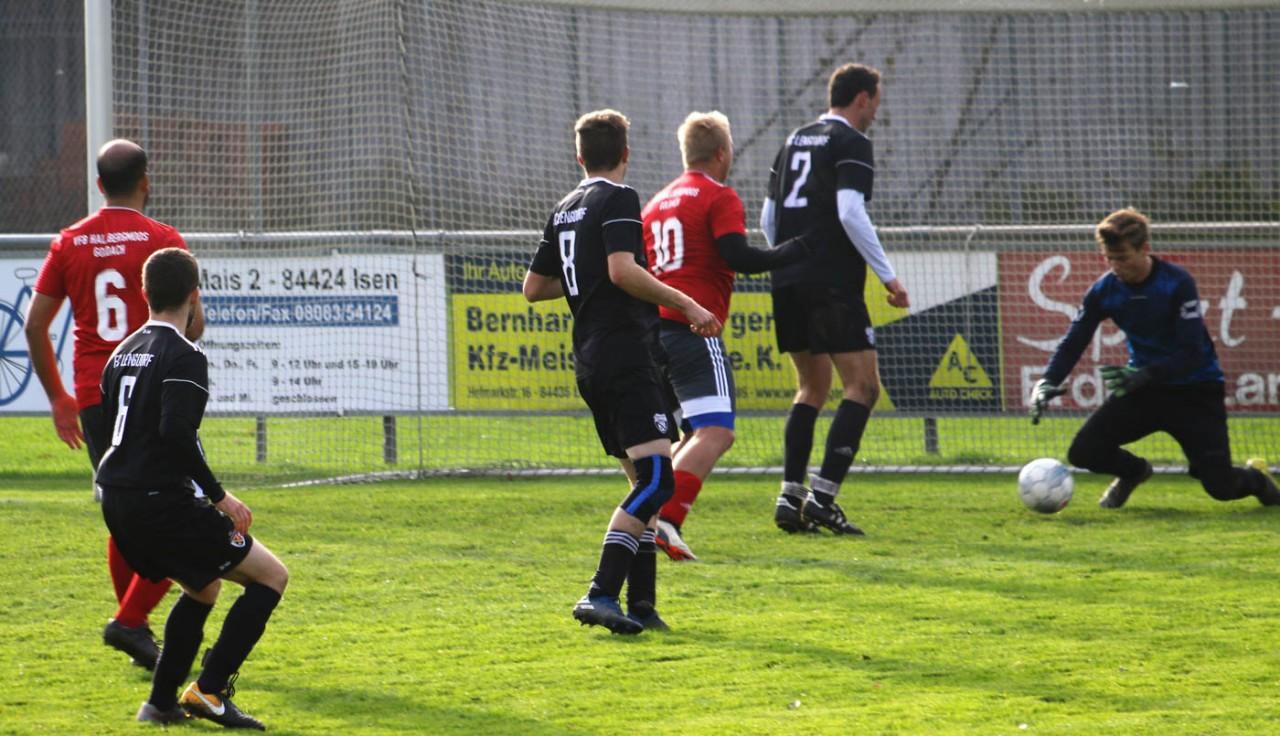 Dritte verliert mit 3:0 in Lengdorf