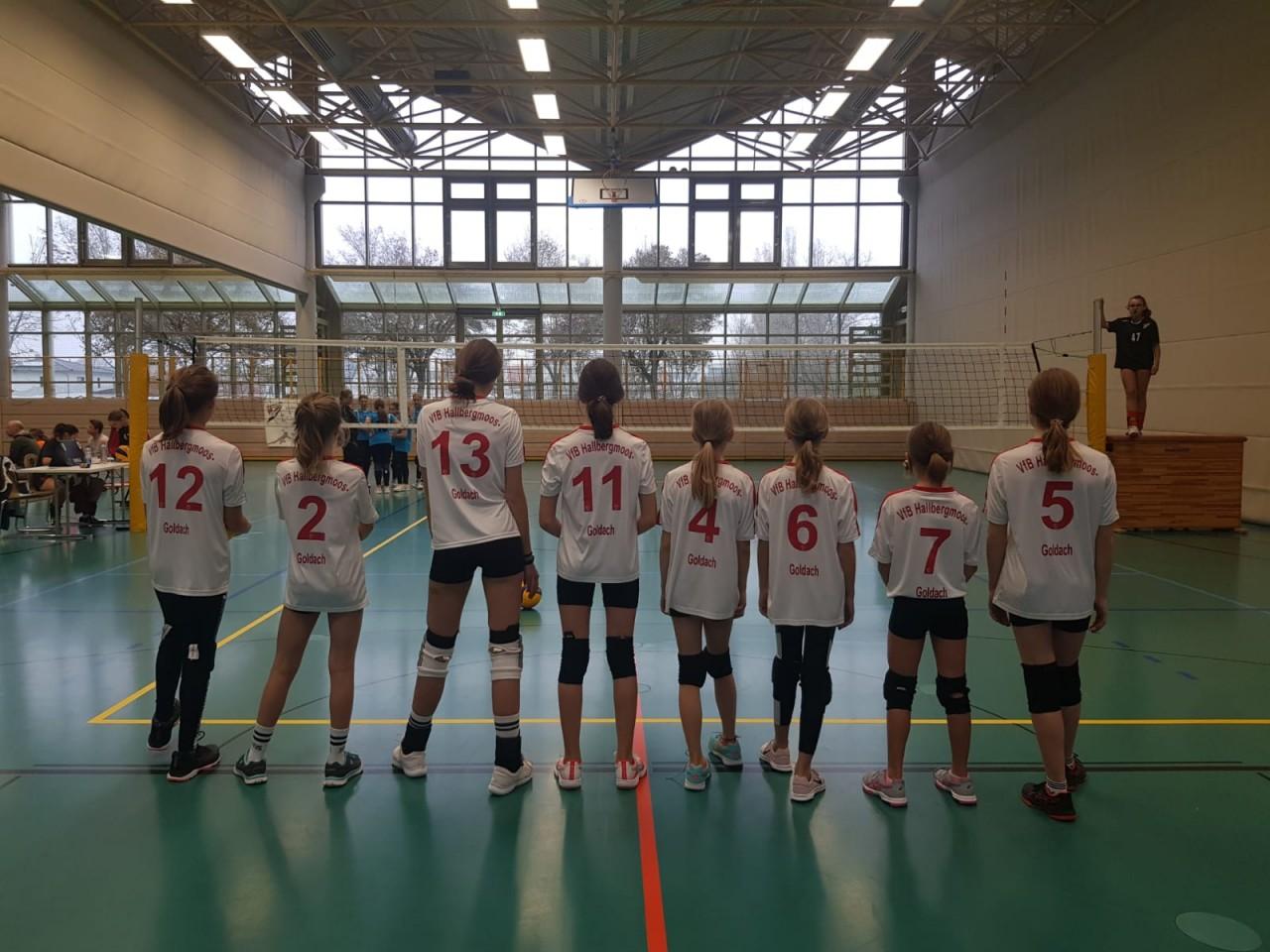 Weibliche U14 kämpft am Heimspieltag
