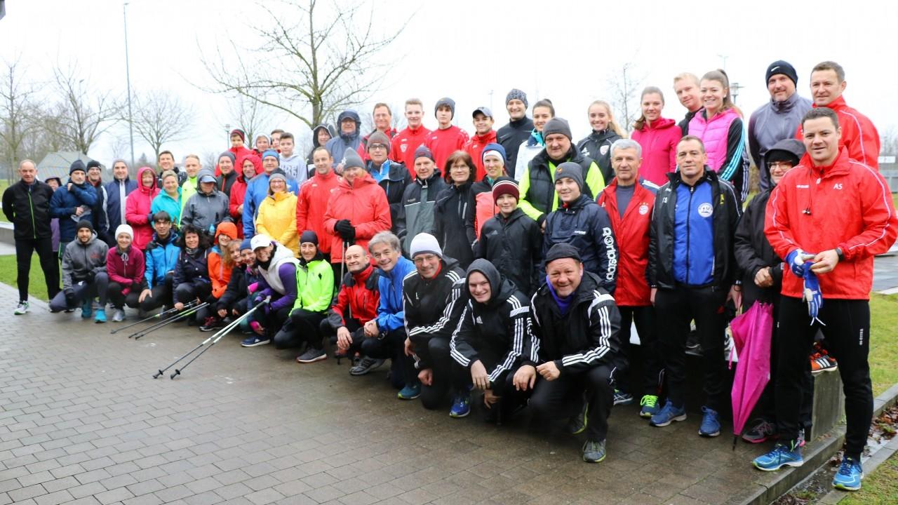 Einladung zum Silvesterlauf in Hallbergmoos!