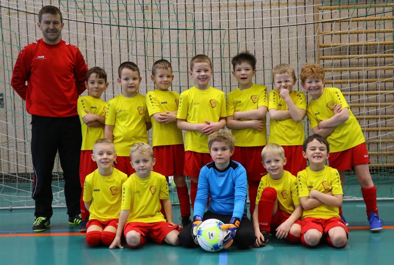 F 5 macht den Auftakt für die Hallberg-Master-Cup-Jugendturniere