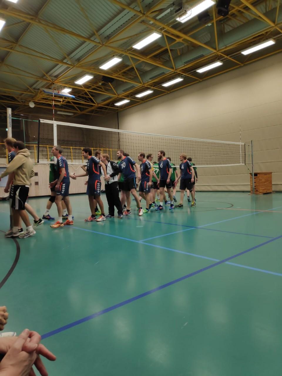 Volleyball Herren der Mixed 1 erreichen Pokalfinale