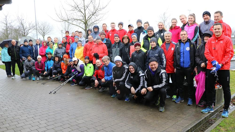 Silvesterlauf mit Teilnehmerrekord 61 + 1