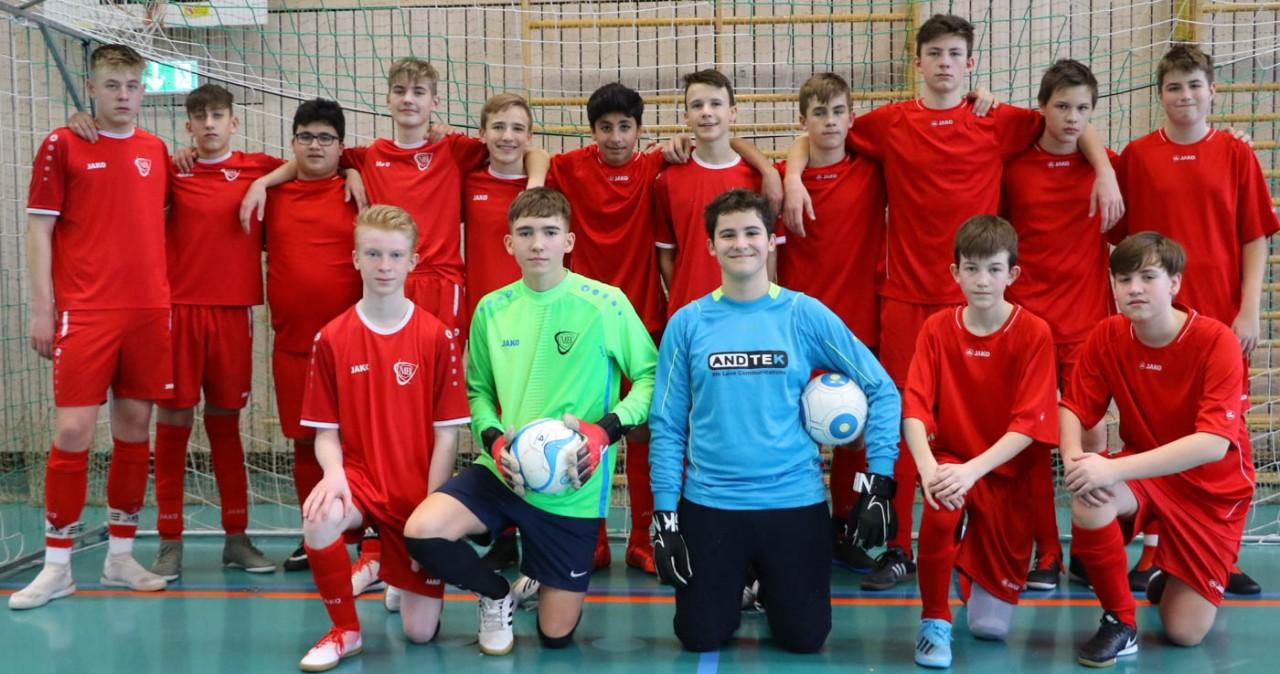 C-Jugend spielt mit zwei Teams im eigenen Turnier