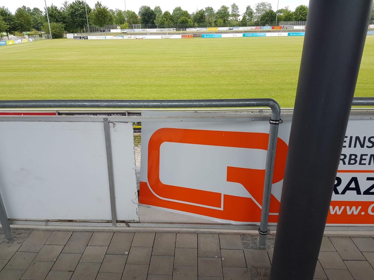 Mutwillige Zerstörungen im Sportpark: Wer macht denn so etwas?
