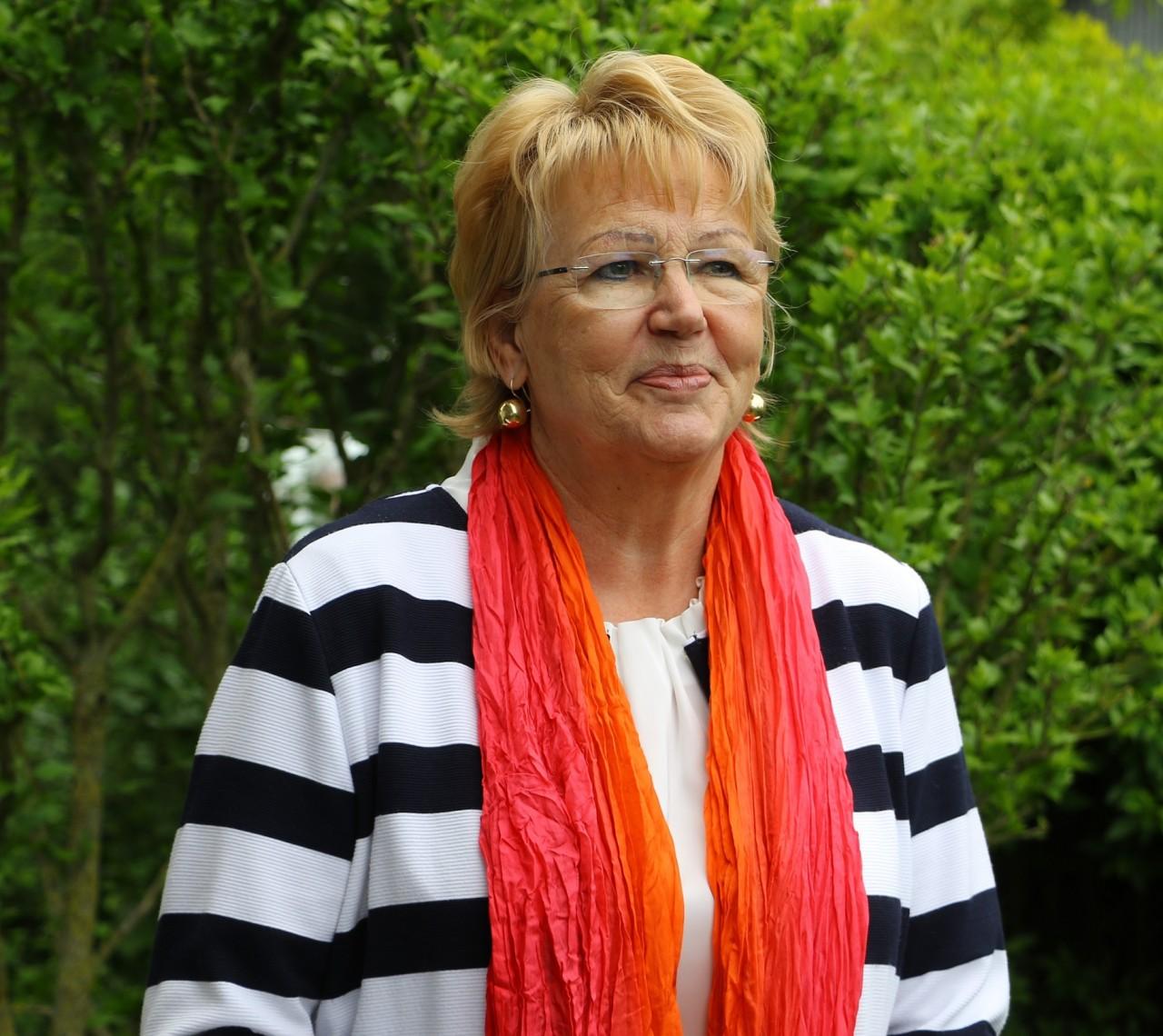 Die neue Senioren- und Ehrenamtsbeauftragte des VfB Sieglinde Haas im Interview