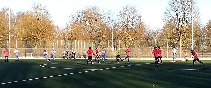 Testspiel des VfB gegen Kammerberg
