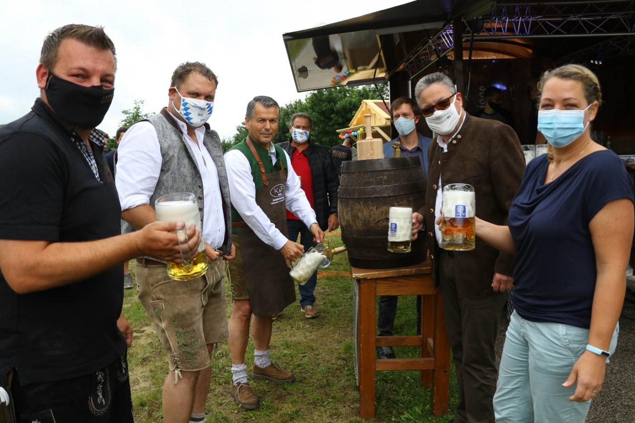VfB feiert seinen 70 zigsten Geburtstag mit Biergarteneröffnung