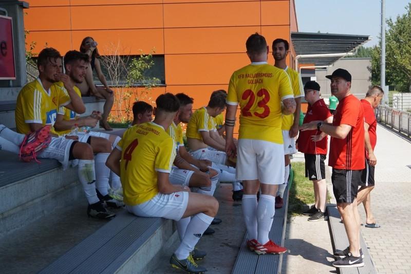 Lockerer Testspielsieg des VfB gegen die Sportfreunde aus Schwaig, am Ende hieß es 6:1 für den VfB