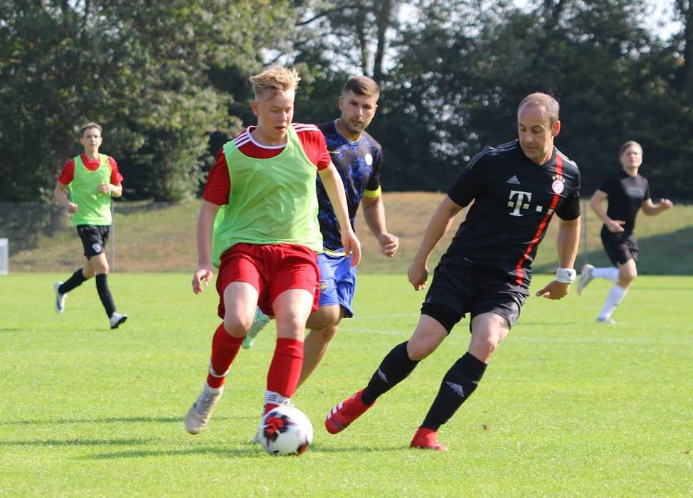 B-Jugend macht Trainingsspiel gegen Interboef