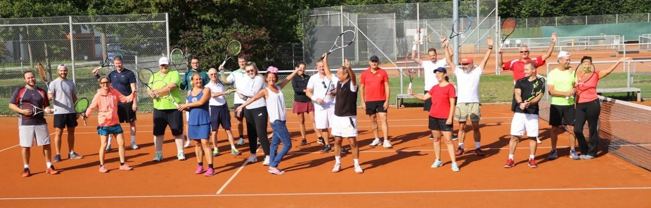 Schleiferlturnier bei den Tennisspielern