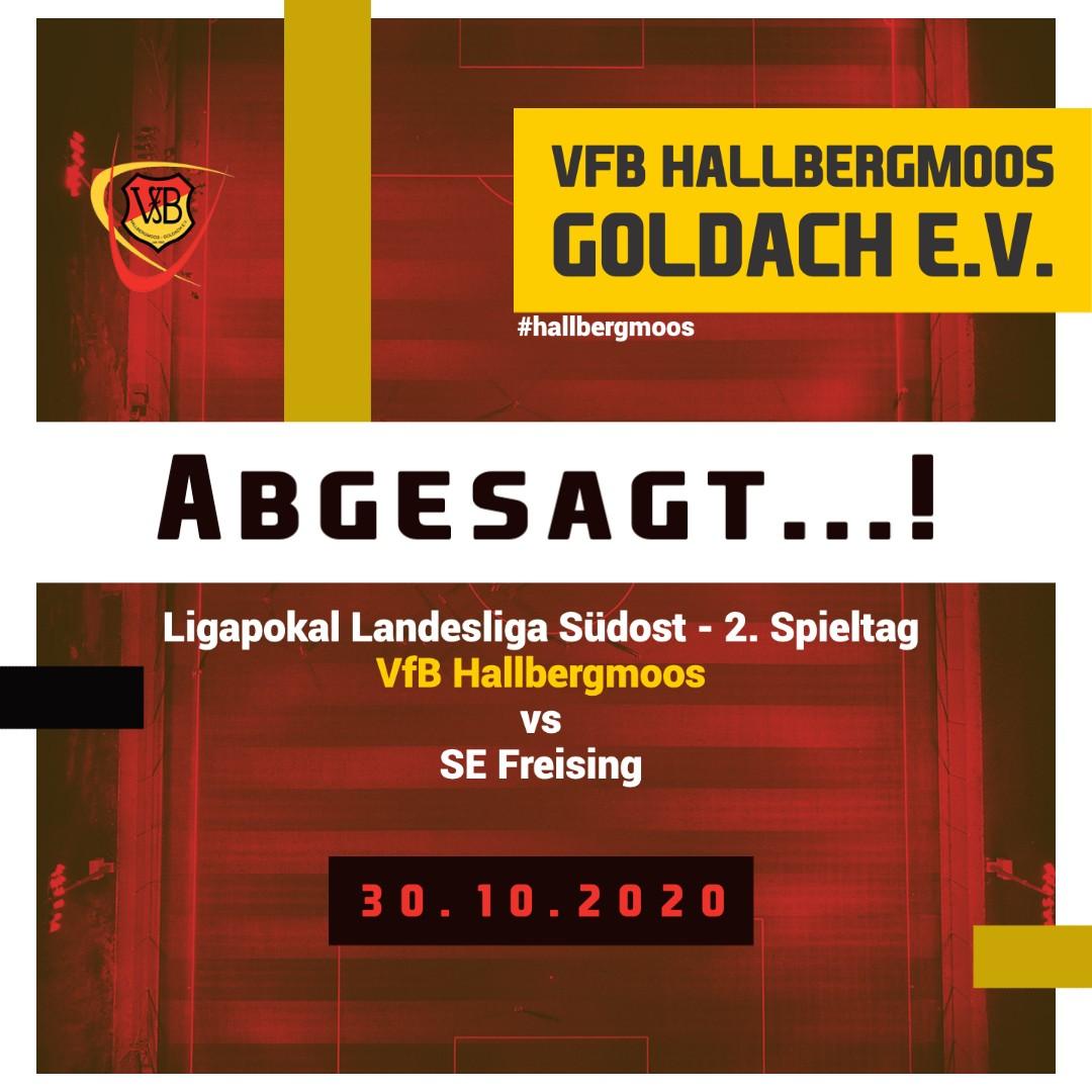 Absage des Spiels VfB gegen Freising