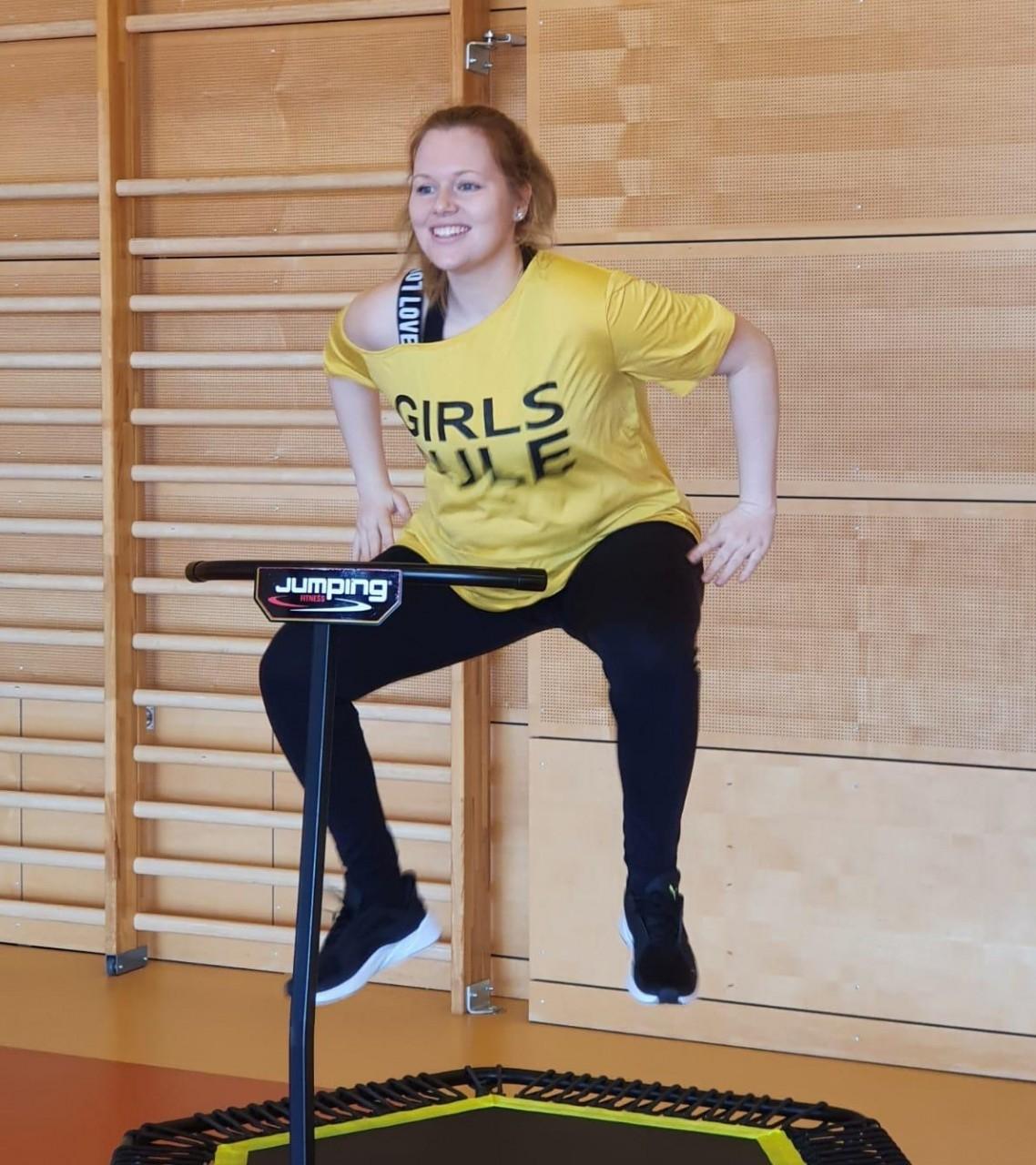 Ehrenamt: Auch der VfB interne Nachwuchs macht mit! Z.B. Sabrina Wittmann/ Tanzsport und Jumping®
