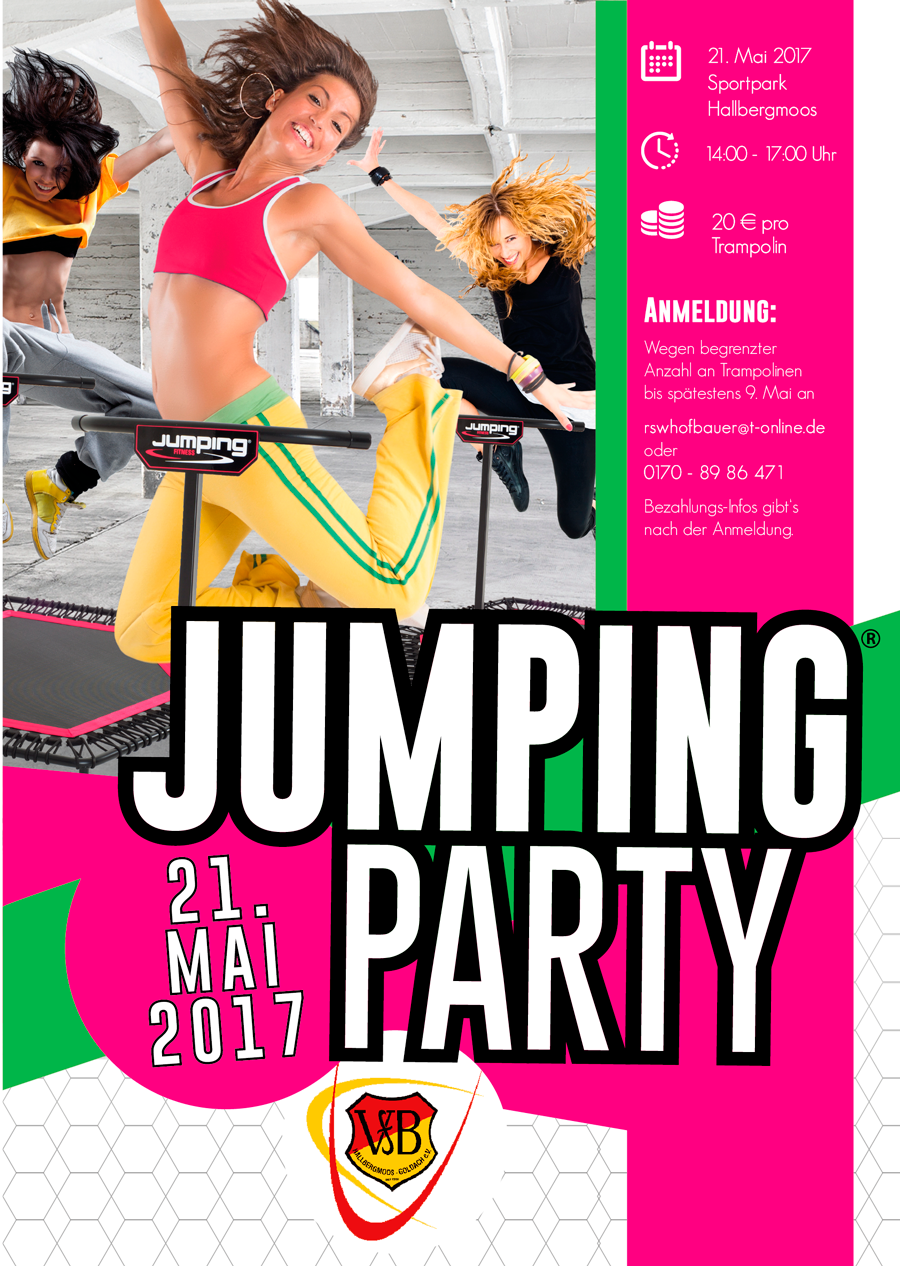 JumpingParty Flyer