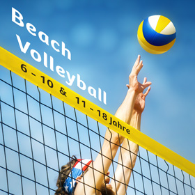 Beachvolleyball-Kachel